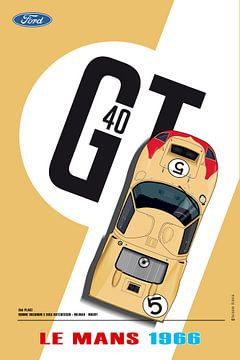 GT40 Ronnie Bucknum van Theodor Decker