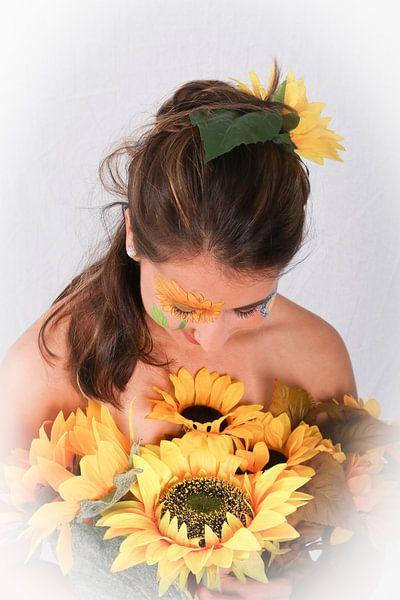 sunflower queen van peterheinspictures