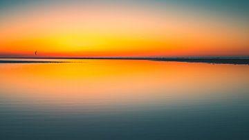Breezand zonsondergang 4 sur Andy Troy