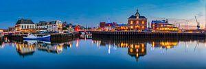 Panorama Harlingen, Niederlande von Edwin Kooren