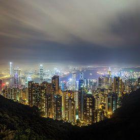 Hong Kong Peak Panorama von Roy Poots