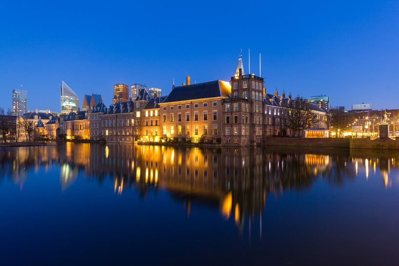 Binnenhof, Hofvijver, Den Haag van Arne Wossink