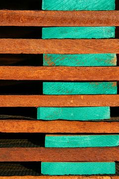 Stapel hout van Anne Reitsma