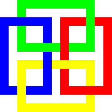 Onder en boven | Permutatie | ID=13 | V=44 | 4xO | P #01-W van Gerhard Haberern