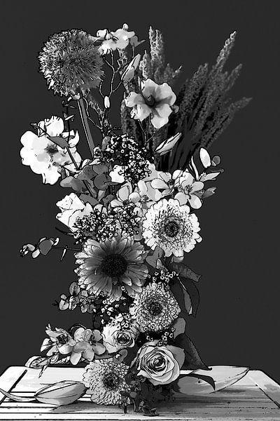 Bloemen kunst 3 van Wendy Tellier - Vastenhouw