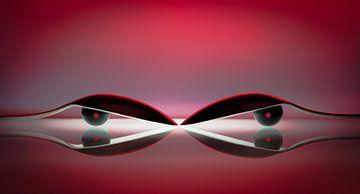abstract - boze ogen - angry von Erik Bertels