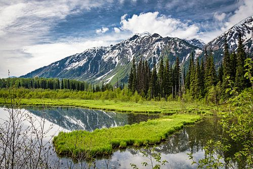 Bergmeer in Brits Columbia, Canada