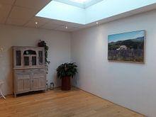 Klantfoto: Provence van Claudia Moeckel, op canvas