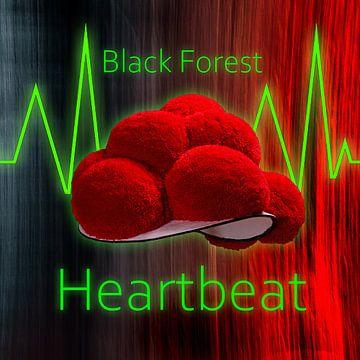 Zwarte Woud Hartslag Zwarte Woud ART 1.0 van Ingo Laue