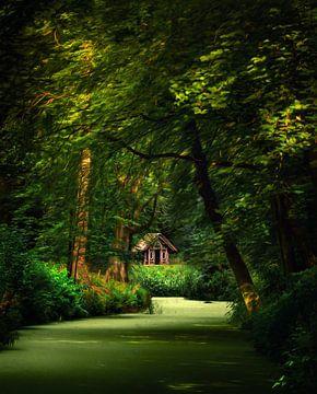 Cabin in the woods van Niels Tichelaar