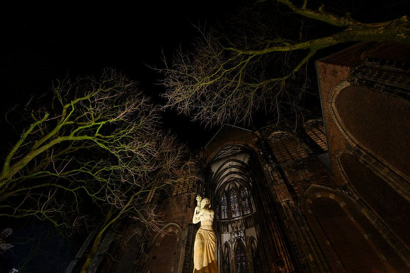 Verzetsmonument voor de Domkerk in Utrecht van Donker Utrecht