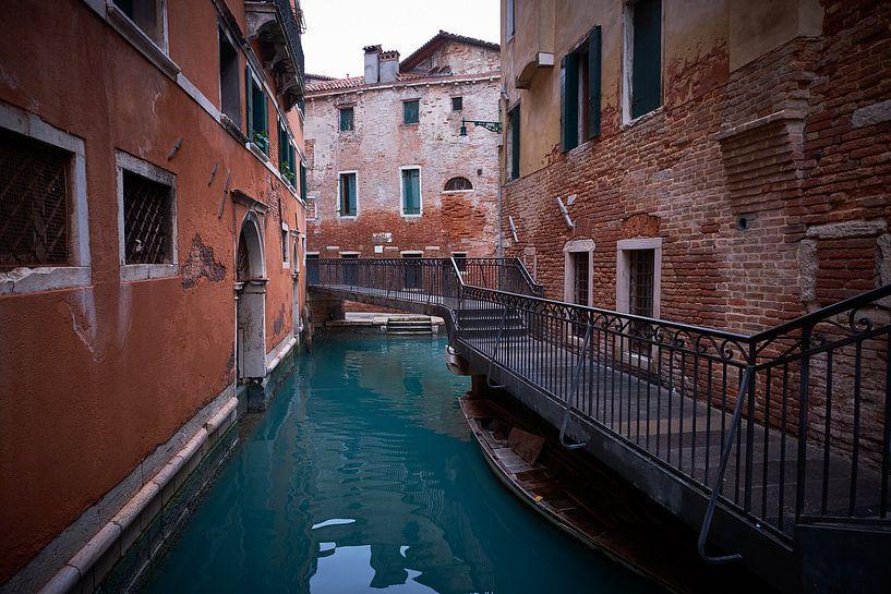 Venedig versunkene Stadt von Karel Ham