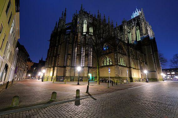 De Domkerk in Utrecht aan de achterzijde