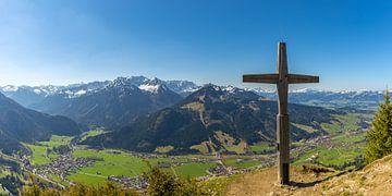 Gipfelkreuz auf dem Hirschberg von Walter G. Allgöwer