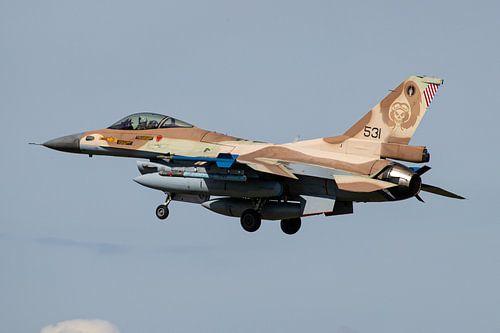Israelische Luchtmacht F-16 Fighting Falcon