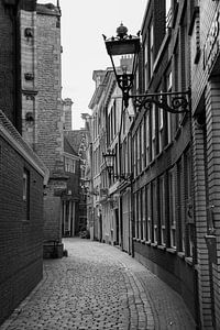 Amsterdam   Oudekerksplein gezien vanaf de Oudezijds Voorburgwal