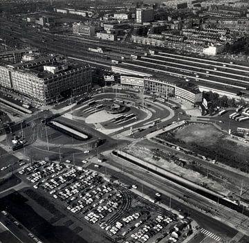 Rotterdam - Weena - Centraal Station 26-10-1967 van Roel Dijkstra