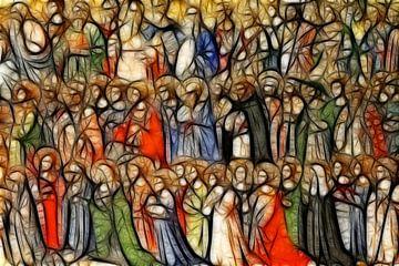Gemälde aller Heiligen von Atelier Liesjes
