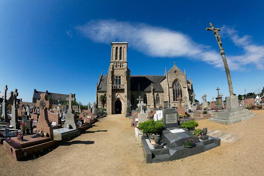 Frankrijk / Bretagne / Eglise de Louannec / 2012
