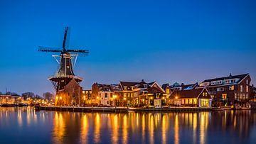 Molen De Adriaan in Haarlem, Nederland van Adelheid Smitt