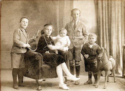 Haagse familie van