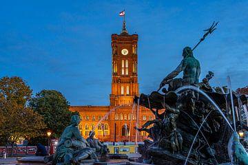 Rotes Rathaus , Berlin von Peter Schickert