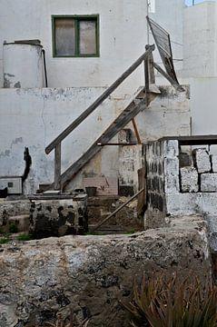 Abgelaufenes Gebäude Fuerteventura von Marieke van der Hoek-Vijfvinkel