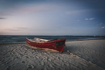 Vissersboot op Usedom van Skyze Photography by André Stein