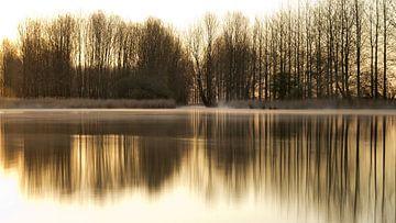 ochtendspiegeling. van Niek Goossen