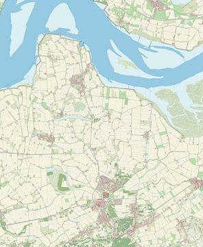 Kaart vanHulst