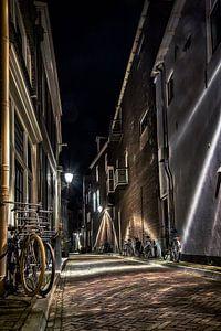 Deventer bij nacht van