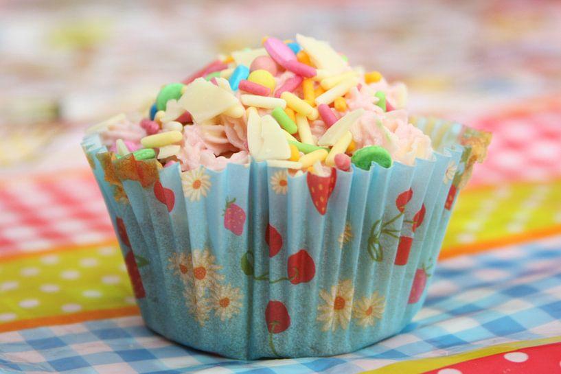 Cupcake met sprinkels van Frederique Richard
