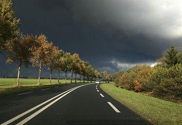 Donkere wolken von Picture Jo