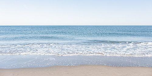 Noordzee kust gefotografeerd vanuit Scheveningen