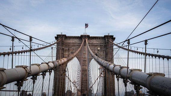 Wandelen over de Brooklyn Bridge
