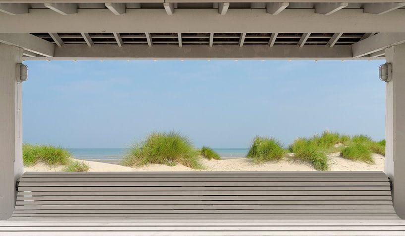 2912 The beach van Adrien Hendrickx