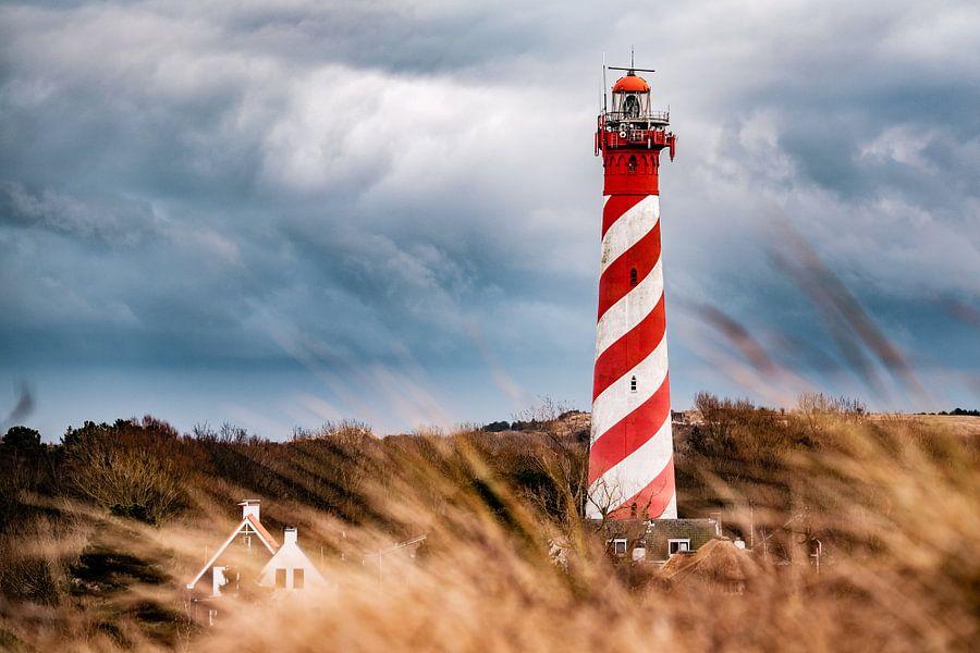 Vuurtoren Westerlicht van Edwin van Wijk