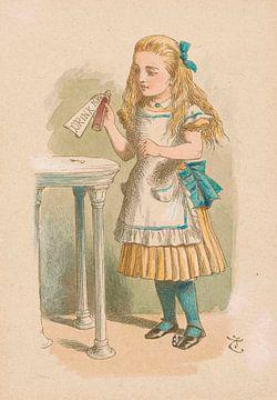 Wie Alice groß geworden ist, John Tenniel