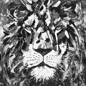 Der Gladiator Löwe von Kathleen Artist Fine Art