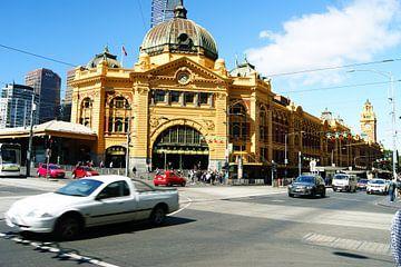 Flinders Street Station Melbourne von Sander van Klaveren