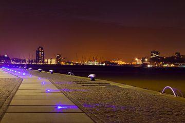 Lichtjes in Rotterdam Haven von Dexter Reijsmeijer