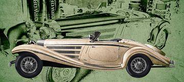 Mercedes-Benz W 29 Typ 540 K Spezial Roadster von aRi F. Huber