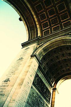 Arc de Triomphe retro von Nathalie van der Klei