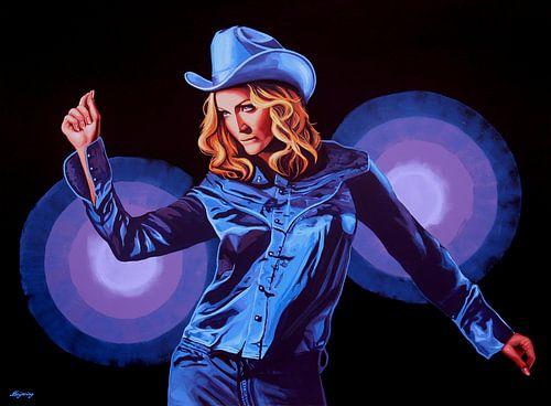 Madonna Schilderij van Paul Meijering