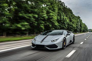 Lamborghini Huracan Performante détails sur Bas Fransen