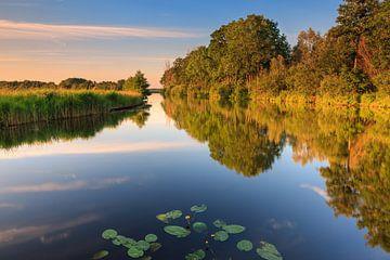 Sommerabend in Midwolde, Groningen, Niederlande von Henk Meijer Photography