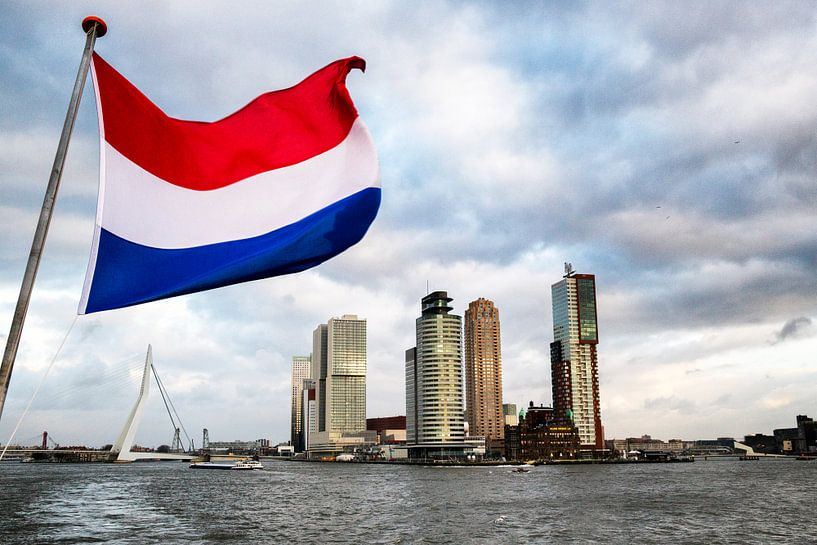 Skyline Rotterdam - Port of Europe van Jan Sportel Photography
