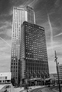 Maastoren Rotterdam van Alexander Blok