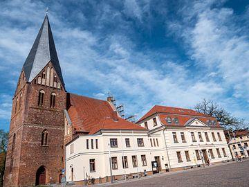 Stadtkirche von Röbel/Müritz an der Mecklenburgische Seenplatte von Animaflora PicsStock