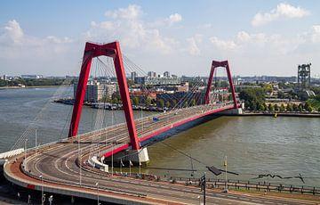 De Willemsbrug in Rotterdam van MS Fotografie | Marc van der Stelt